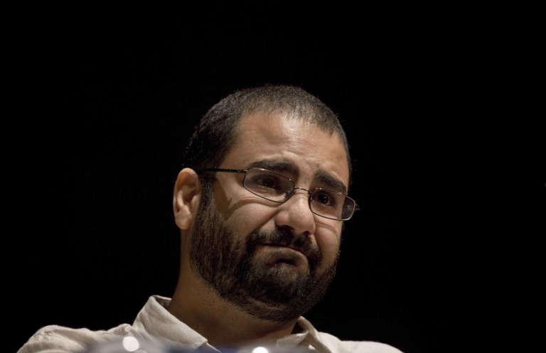 Alaa Abdel Fattah en septembre 2014 au Caire.