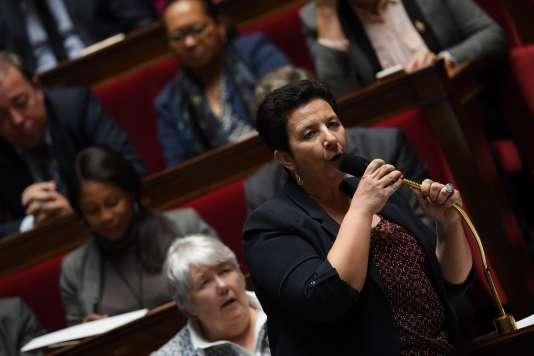 Frédérique Vidal à l'Assemblée nationale lors d'une séance de questions au gouvernement le 8 novembre 2017.