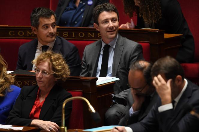 La ministre du travail, Muriel Pénicaud, à gauche, lors des questions au gouvernement, le 8 novembre.