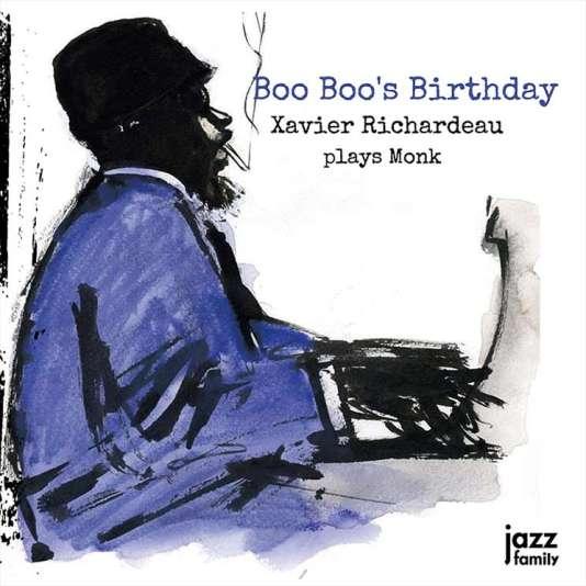 Pochette de l'album« Boo Boo's Birthday», de Xavier Richardeau.
