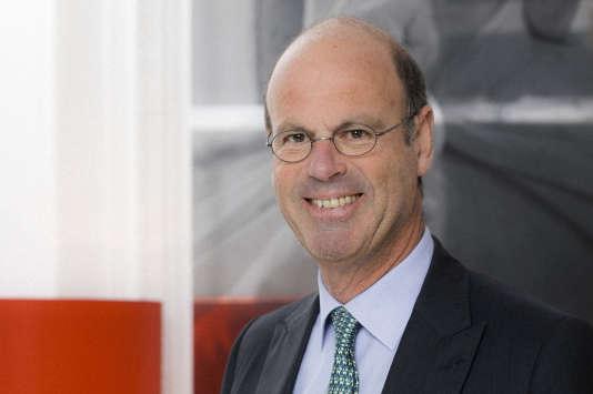 L'ancien patron de Generali France Eric Lombard, choisi par l'Elysée pour diriger la Caisse des dépôts.