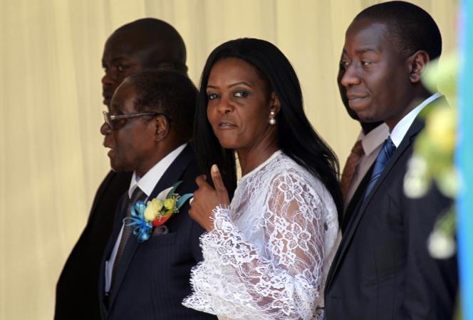 Grace Mugabe, le 9 novembre 2017.