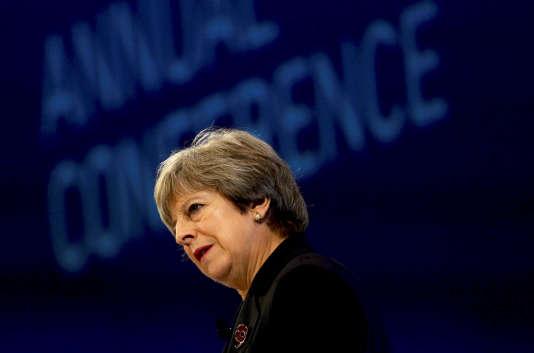 La première ministre britannique Theresa May, à Londres, le 6 novembre.