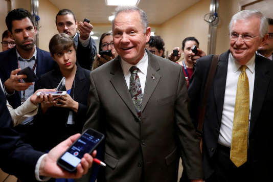 Roy Moore, le 31 octobre à Washington.