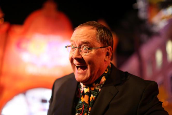 Le réalisateur et producteur John Lasseter lors de la première du film « Coco», à Los Angeles, le 8 novembre.