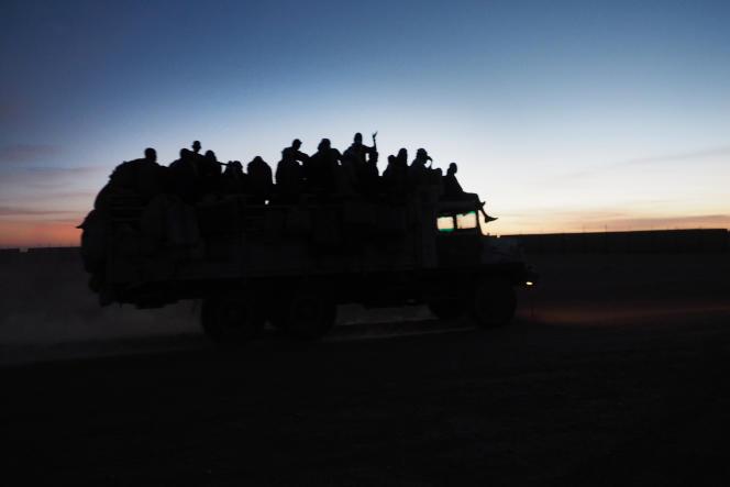 A Agadez, dans le nord du Niger, le 6novembre 2017.
