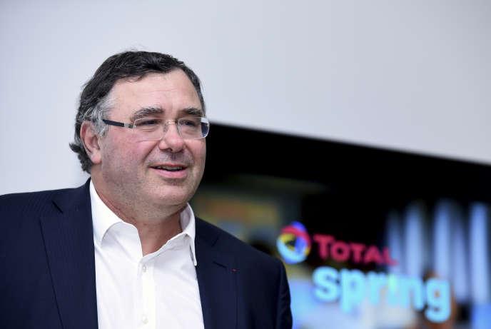 Patrick Pouyanné, le PDG de Total, à Paris, le 5 octobre.