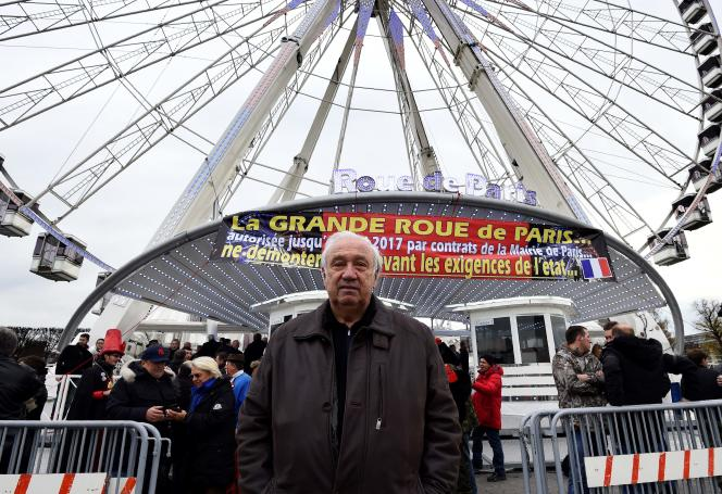 Marcel Campion, le 24 novembre 2016.