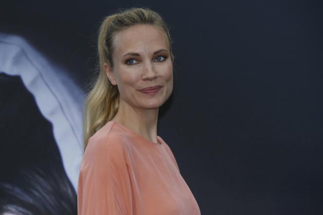 L'actrice Moa Gammel, signataire d'un texte dénonçant des faits de harcèlement sexuel, à Monaco, en 2015.