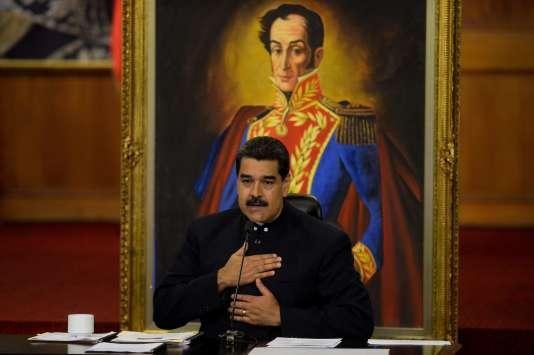 Nicolas Maduro, le président vénézuélien, le 17 octobre, à Caracas.