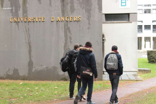 Université d'Angers en 2016.