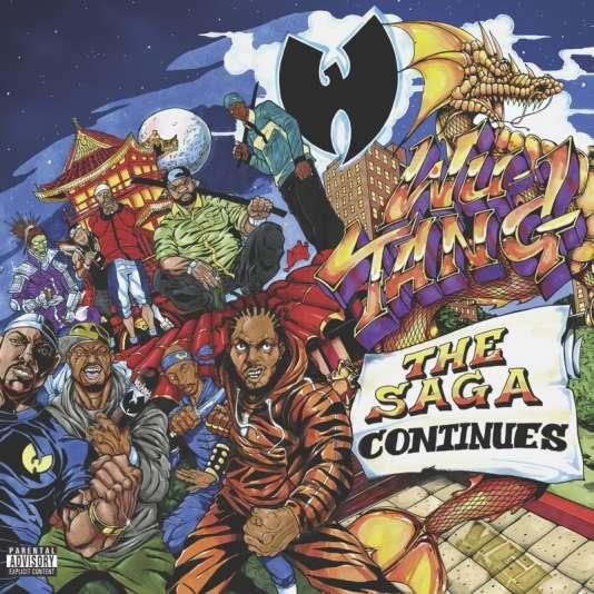 Pochette de l'album«The Saga Continues», de Wu-Tang Clan.