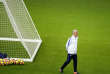 France's soccer team head coach Didier Deschamps looks on during a training session at the Stade de France stadium in Saint Denis, north of Paris, France, Thursday, Nov. 9, 2017. France will play against Wales in a friendly soccer match on Friday, Nov. 10. (AP Photo/Francois Mori)