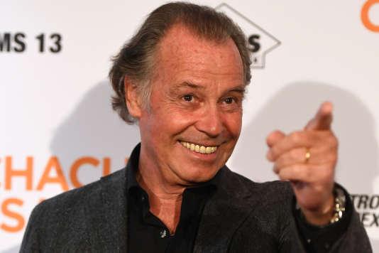 Michel Leeb lors de la première du film de Claude Lelouch « Chacun sa vie», à Paris, en mars 2017.