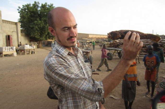 Christopher Kirkley, ancien biologiste, devenu producteur de musique et fondateur du label Sahel Sounds.