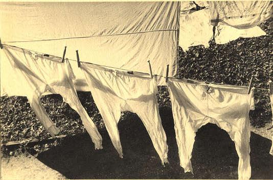«Lessive», par Ilse Bing, 1929.