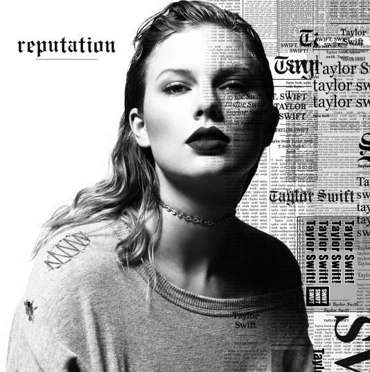 Pochette de l'album « Reputation », de Taylor Swift.
