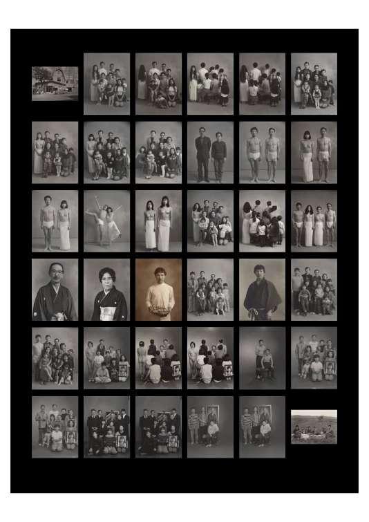 La série de photos de famille de Masahisa Fukase.
