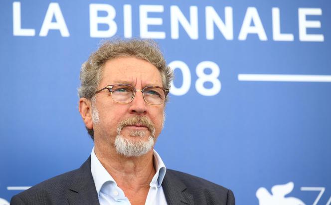 Robert Guédiguian à Venise, le 3 septembre.
