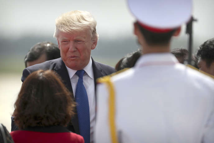 Donald Trump à Danang, le 10 novembre.
