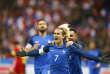 Antoine Griezmann auteur du premier but des Bleus face au pays de Galles.