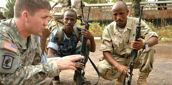 Formation sur la base américaine de Djibouti (ici en 2009).