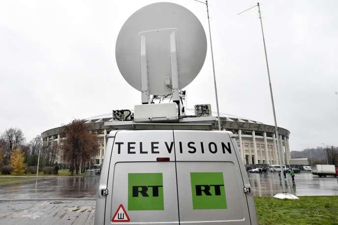 La chaîne de télévision russe RT doit s'inscrire comme« agente de l'étranger» aux Etats-Unis.