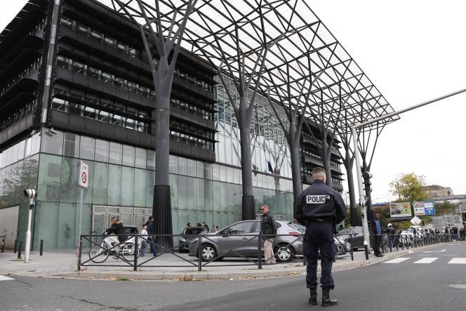 Le tribunal de Melun, en Seine-et-Marne, le 29 octobre 2015.