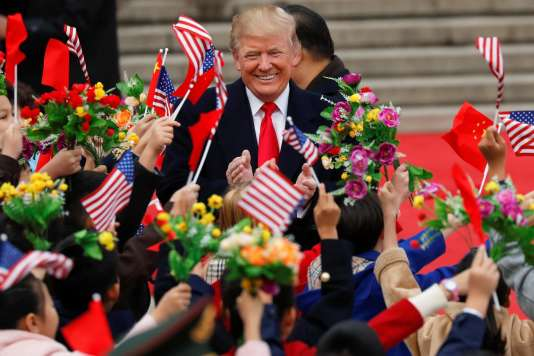 Le président américain Donald Trump, le 9 novembre à Pékin.