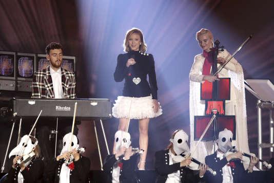 La chanteuse Zara Larsson fait partie des signataires de cette tribune.
