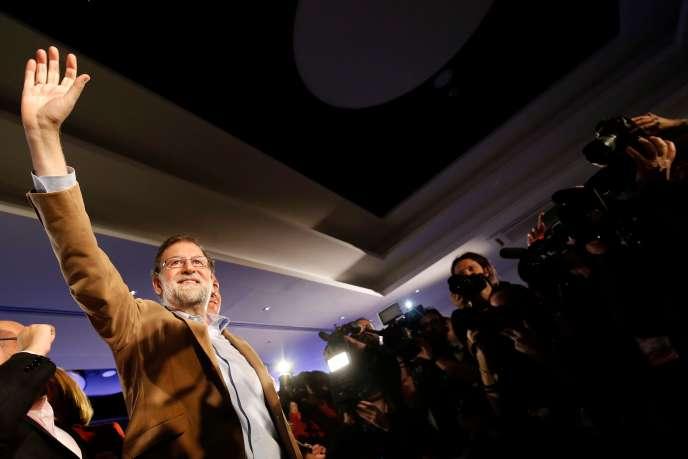 Mariano Rajoy à Barcelone, le 12 novembre.