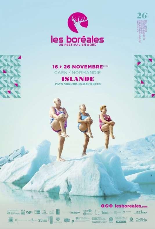 Affiche du festival Les Boréales.