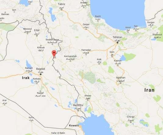Le séisme a fait plusieurs morts dans la ville-frontière de Qasr-e Shirin.