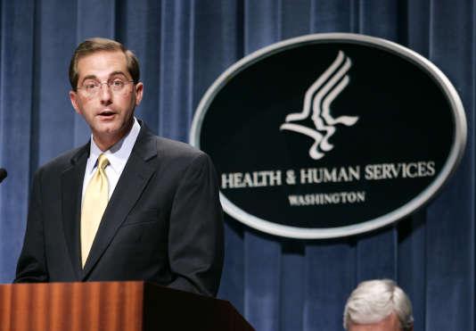 Alex Azar, alors qu'il était numéro 2 du HHS, le8 juin 2006.