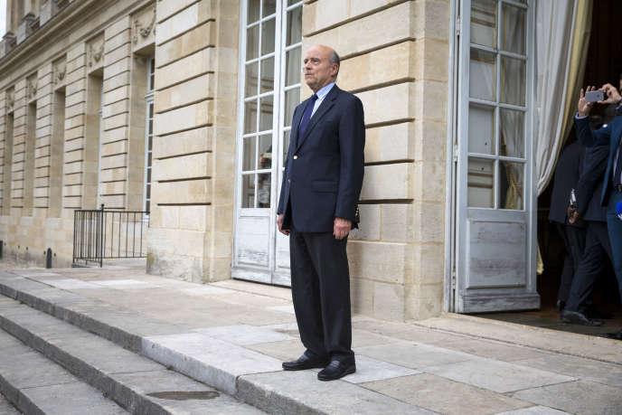 Alain Juppé, à Bordeaux, le 20 octobre.