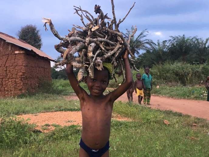 Près d'Abomey, au Bénin, en octobre 2017.
