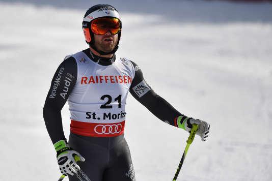 En 2013, David Poisson avait obtenu la troisième place des championnats du monde de descente.