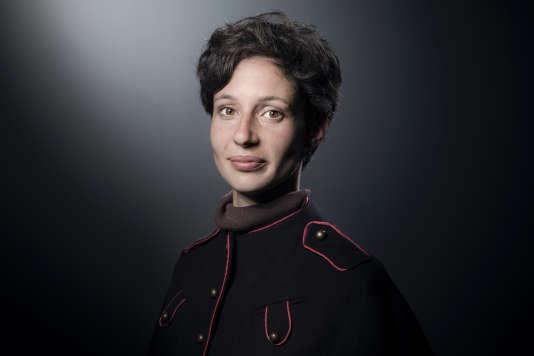 Alice Zeniter, récompensée par le prix littéraire du «Monde»et le prix des libraires de Nancy pour « L'Art de perdre » (Flammarion).