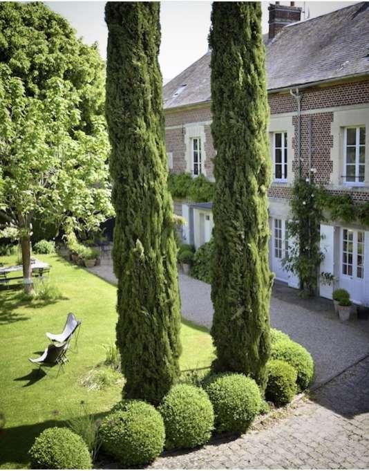 La maison d'hôtes de Clare Howarth près de Chantilly.