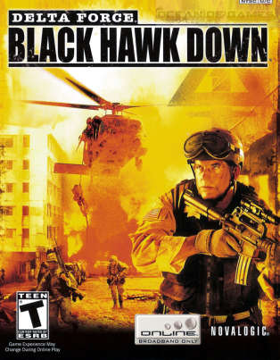 «Black Hawk Down» (2003), un des précurseurs des simulations militaires en ligne.