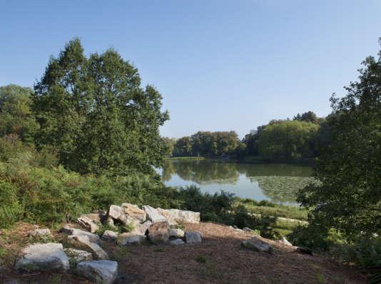 Parc Jean-Jacques Rousseau à Ermenonville.