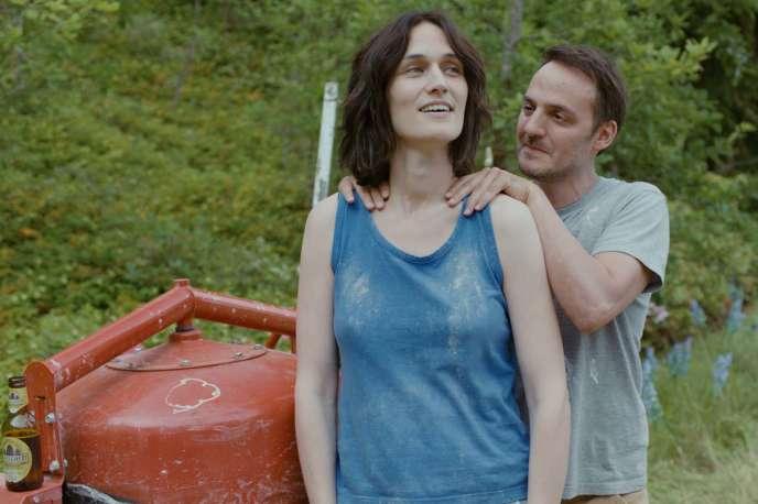 Clotilde Hesme et Fabrizio Rongione dans le film français deFabien Gorgeart,«Diane a les épaules».