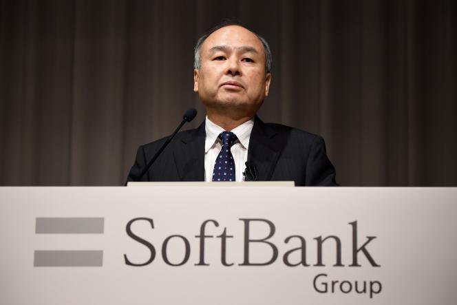 Masayoshi Son, président de SoftBank, à Tokyo, le 7 novembre.
