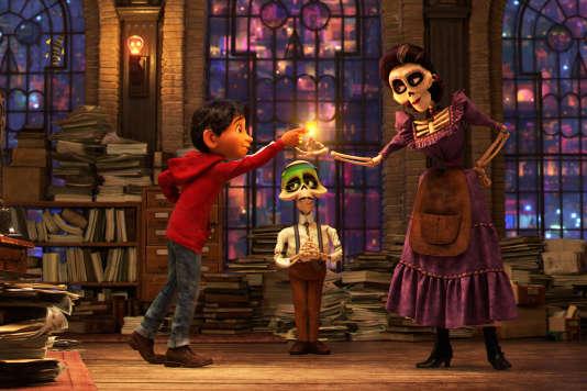 Dans« Coco», le jeune Miguel est propulsé dans le monde des morts lors de la Fête des revenants. Le début d'un voyage initiatique.