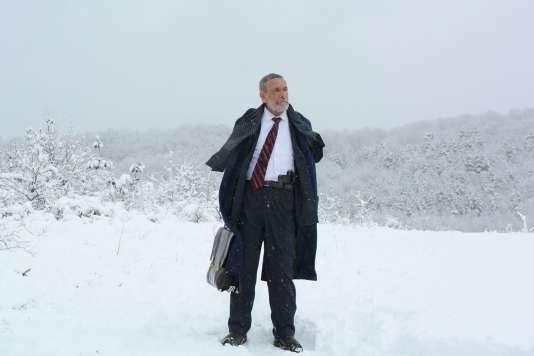Qishvard Manvelishvili dans le film géorgien deGeorge Ovashvili,«Khibula».