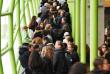 Samedi 11 novembre, lors du Salon des grandes écoles du « Monde», à la Cité de la mode et du design, à Paris.