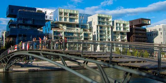 Le quartier Confluence, à Lyon.