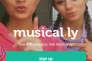 Capture d'écran de l'application Musical.ly