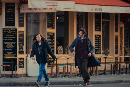 Nils Othenin-Girard etFélix Moati dans le film français de Mikael Buch,«Simon et Théodore».