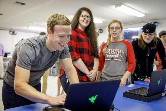 Mark Zuckerberg se lance, chaque année, un«défi personnel» qu'il rend public.